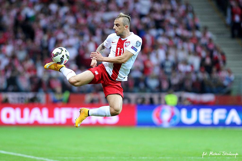 14.10.2014 PILKA NOZNA POLSKA - SZKOCJA ELIMINACJE EURO 2016