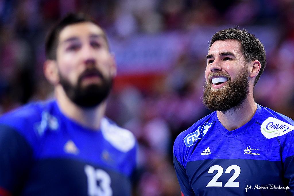 15.01.2016 EHF EURO 2016 - FRANCJA - MACEDONIA - PILKA RECZNA