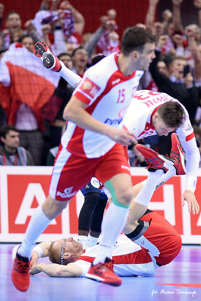 19.01.2016 EHF EURO 2016 - POLSKA - FRANCJA - PILKA RECZNA