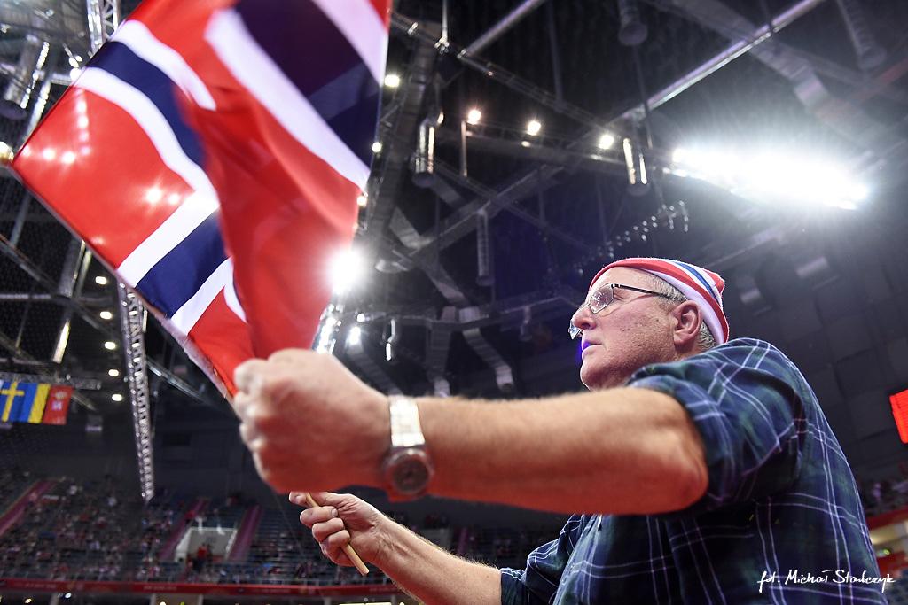 25.01.2016 EHF EURO 2016 - MACEDONIA - NORWEGIA - PILKA RECZNA
