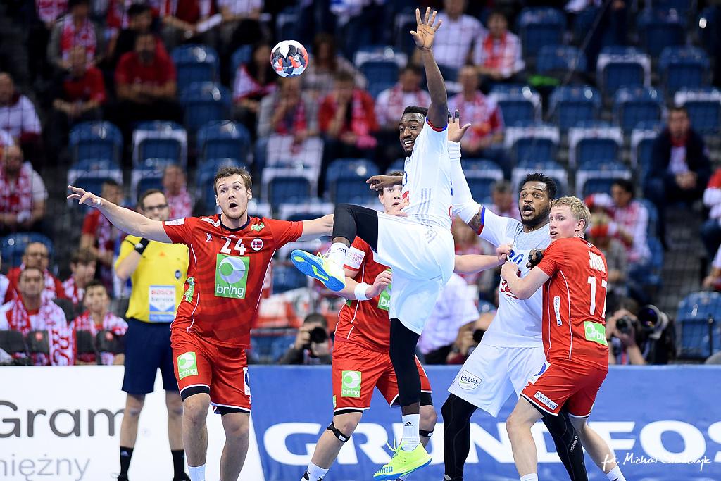 27.01.2016 EHF EURO 2016 - FRANCJA - NORWEGIA - PILKA RECZNA