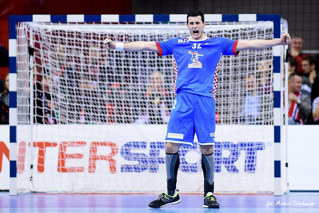 31.01.2016 EHF EURO 2016 - MECZ O 3 MIEJSCE - NORWEGIA - CHORWACJA - PILKA RECZNA