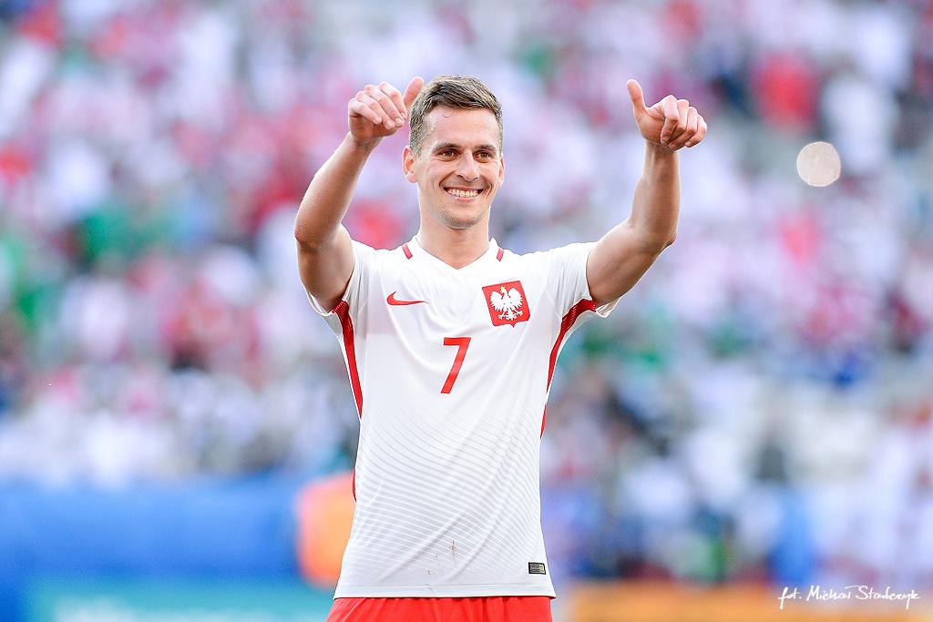 12.06.2016 POLSKA - IRLANDIA POLNOCNA UEFA EURO 2016 PILKA NOZNA