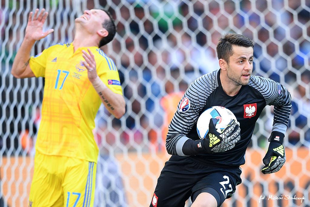 21.06.2016 UKRAINA - POLSKA UEFA EURO 2016 PILKA NOZNA