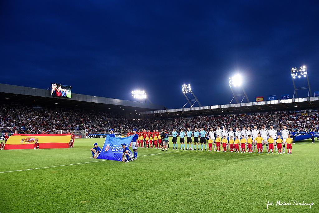 27.06.2017 HISZPANIA U21 - WLOCHY U-21 MISTRZOSTWA EUROPY UEFA UNDER 21 PILKA NOZNA