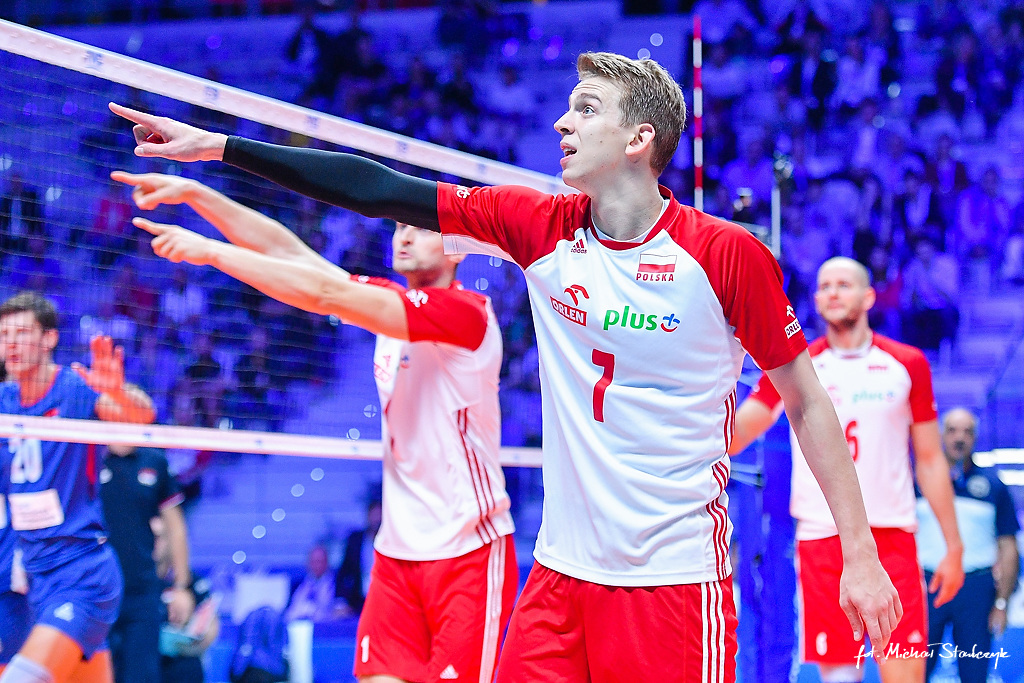 27.09.2018 SIATKOWKA - POLSKA - SERBIA - FIVB VOLLEYBALL MEN'S WORLD CHAMPIONSHIP 2018