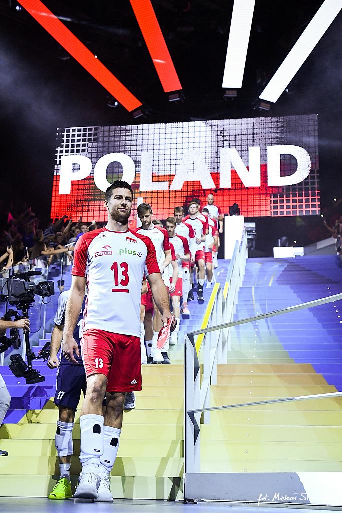 29.09.2018 SIATKOWKA - POLSKA - USA - FIVB VOLLEYBALL MEN'S WORLD CHAMPIONSHIP 2018