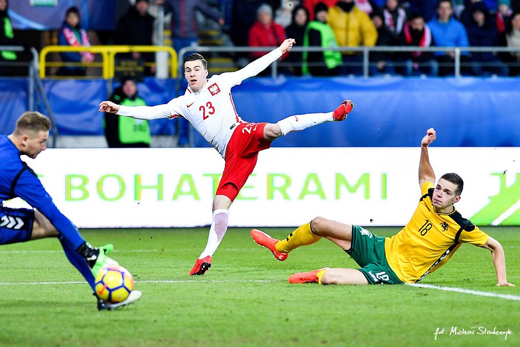 27.03.2018 POLSKA U21 - LITWA U-21 ELIMINACJE MISTRZOSTW EUROPY UEFA UNDER 21 PILKA NOZNA
