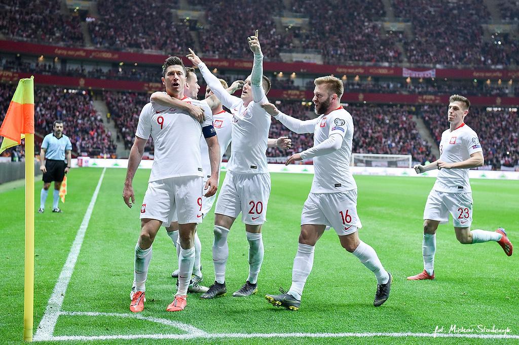 24.03.2019 POLSKA - LOTWA ELIMINACJE MISTRZOSTW EUROPY UEFA EURO 2020 PILKA NOZNA