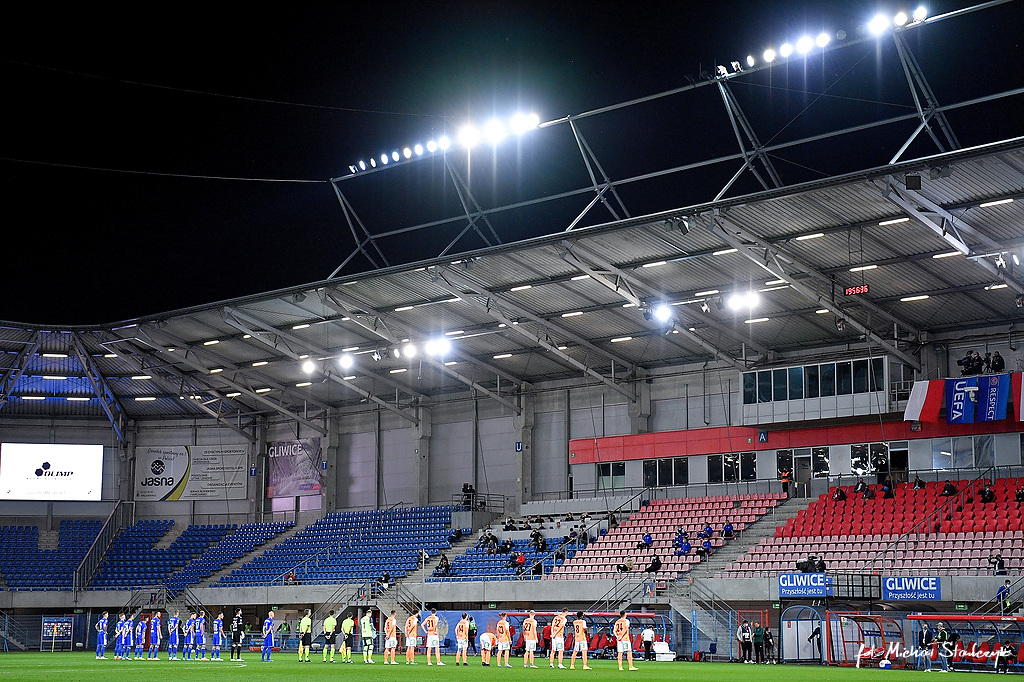 17.09.2020 PIAST GLIWICE - TSV HARTBERG ELIMINACJE UEFA LIGA EUROPY PILKA NOZNA